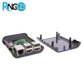 کیس - جعبه ساده مشکی رزبری پای Raspberry Pi