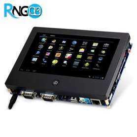"""برد کاربردی صنعتی Tiny210v2/Smart210 CortexA8 با """"LCD7 و تاچ خازنی"""