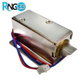 قفل الکترونیکی 12 ولتی Solenoid Lock مدل زبانه ای