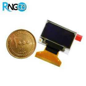 نمایشگر OLED در ابعاد 0.96inch با رزولوشن 128x64 دو رنگ زرد-آبی