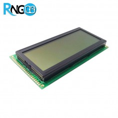 نمایشگر گرافیکی 192*64 GLCD پس زمینه سبز