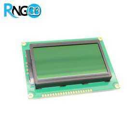 نمایشگر گرافیکی GLCD 64*128 پس زمینه سبز