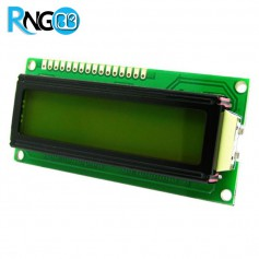 نمایشگر LCD کاراکتری 2x16 سبز