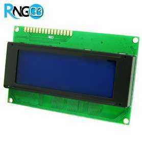 نمایشگر LCD کاراکتری 4x20 آبی