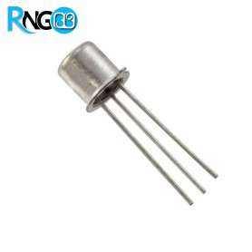 ترانزیستور منفی 2N2222 فلزی
