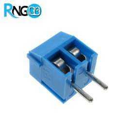 ترمینال پیچی مدل KF301-2Pin رنگ آبی کوچک