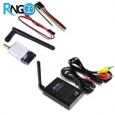 پک فرستنده و گیرنده بیسیم تصویر FPV 5.8G 200mW - مدل TS351+ RC805