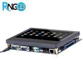 """برد کاربردی صنعتی Tiny4412 چهارهسته ای Cortex-A9 به همراه LCD7"""" و تاچ خازنی"""