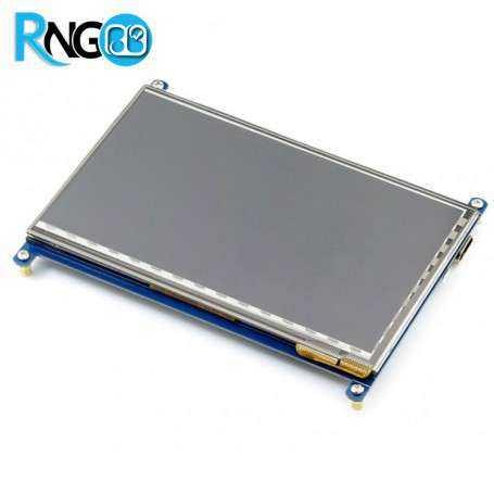 پک کامل نمایشگر 7 اینچ همراه با تاچ خازنی با ورودی HDMI