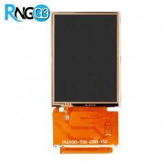 "LCD رنگی ""3.2 TFT به همراه تاچ اسکرین"