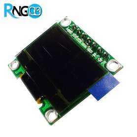 ماژول OLED 0.96 دو رنگ زرد-آبی با رابط I2C و SPI