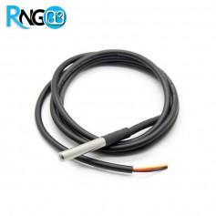 سنسور دمای ضد آب با پوشش استیل ضد زنگ - دماسنج DS18b20