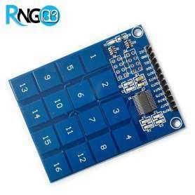 ماژول صفحه کلید لمسی خازنی 4*4 - Keypad Touch TTP229