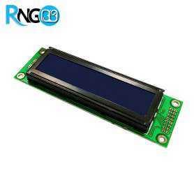 نمایشگر LCD کاراکتری 2x16 آبی (پایه کنار)
