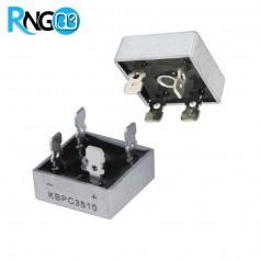 پل دیود 1000V / 35A فلزی تک فاز KBPC3510