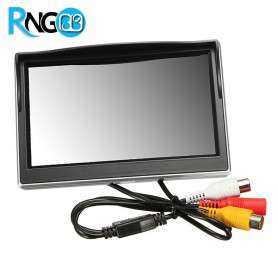 مانیتور TFT LCD دیجیتال 5 اینچ با ورودی AV