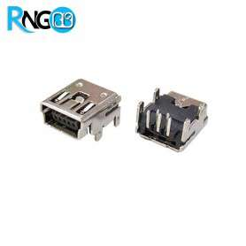 کانکتور USB-Mini مادگی روبردی رایت