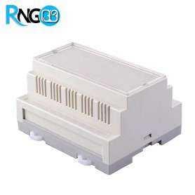 جعبه صنعتی 106x87x60mm مدل 80004 شیاردار