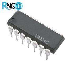 آی سی تقویت کننده LM324 DIP