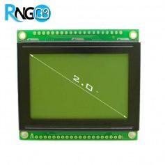 نمایشگر گرافیکی 64*128 GLCD ریز سبز