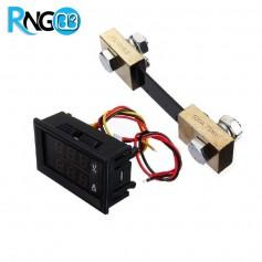 ولتمتر و آمپرمتر DC روپانلی دیجیتالی