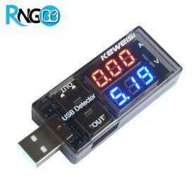 ماژول مانیتورینگ ولتاژ و جریان USB Tester Detector