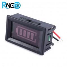 پنل باراگرافی نشانگر ظرفیت باتری 12v