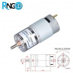 موتور گیربکس 12 ولت ZGA28-200RPM