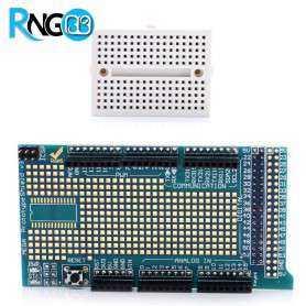 شیلد پروتوتایپ Prototyping برد آردوینو Mega2560 مگا2560