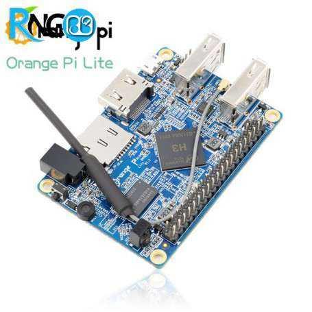 برد چهار هسته ای orange pi lite با قابلیت بوت کردن Android / Linux