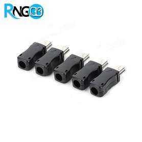 کانکتور MINI USB نری لحیمی (Plug) به همراه کاور