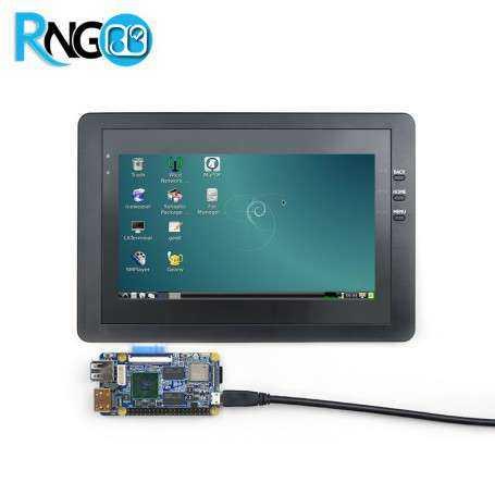 LCD 7 inch به همراه تاچ خازنی