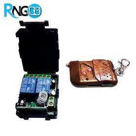 بسته فرستنده و گیرنده 2 کانال رادیویی 315MHz کدلرن