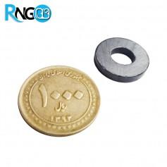 آهنربای حلقه فریت 3*17.5 با سوراخ 7mm