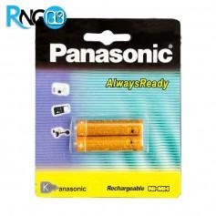 باتری نیم قلمی شارژی 830mA دوتایی Panasonic