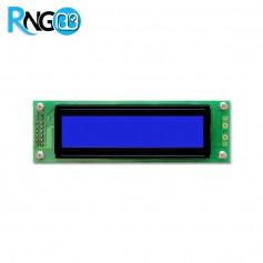 نمایشگر LCD کاراکتری 2x20 آبی