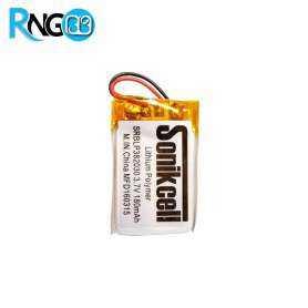 باتری لیتیوم پلیمر 3.7v-180mAh سایز 382030 مارک Sonikcell