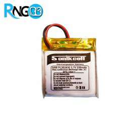 باتری لیتیوم پلیمر 3.7v-230mAh سایز 352830 مارک Sonikcell