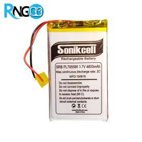 باتری لیتیوم پلیمر 3.7v-4600mAh سایز 785588 مارک Sonikcell