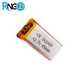 باتری لیتیوم پلیمر 3.7v-450mAh سایز 042040 مارک UK
