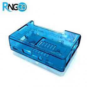 کیس - جعبه حرفه ای رزبری پای Raspberry Pi آبی رنگ