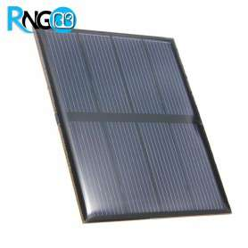 سلول خورشیدی 5v-160mA ابعاد 82x70mm
