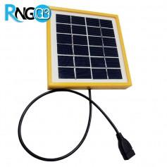 سلول خورشیدی 6v-200mA قابدار خروجی کابل USB ، ابعاد 140x130mm