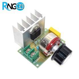 ماژول رگولاتور / دیمر 4 کیلو وات SCR - ولتاژ 220vAC