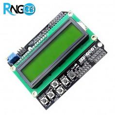 شیلد LCD کاراکتری 2x16 و کیپد آردوینو