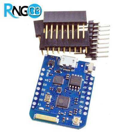 برد Pro mini D1 Wemos با درایور CP2102 و 16MB حافظه داخلی