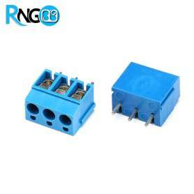 ترمینال پیچی مدل KF300-3Pin رنگ آبی