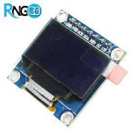 ماژول OLED 0.96 SPI دو رنگ زرد-آبی