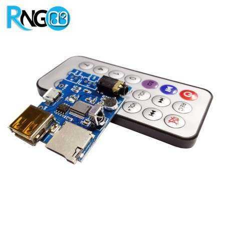 ماژول MP3 Player از روی Flash Memory و microSD Card