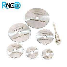 پک فرز 6 عددی HSS مناسب برای برش صفحات فلزی